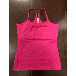 NWT Hot Pink Athletic Support Tank Top